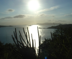 BVIs - Peter Island West towards St John