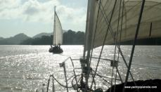 Sailing on Lake Gatun