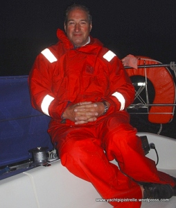 Bob on nightwatch on Azrar III - August 2004