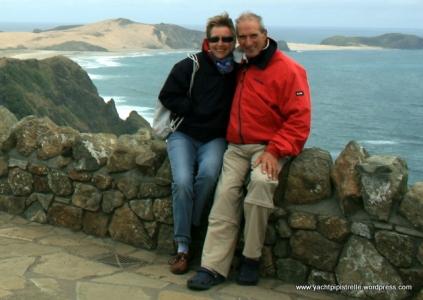At Cape Reinga, New Zealand - November 2011