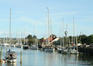 Whangarei Marina,Town Basin