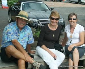 Elaine with Heribert and Hildegard