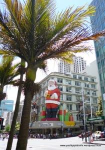 Santa in Queen's Street
