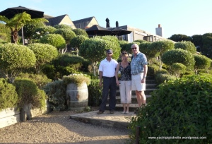 Bob, Mo and Nigel at the Mudbrick