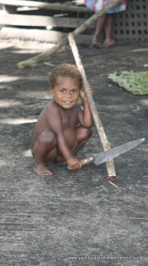Toddler with knife!!