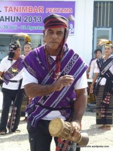 traditional dancing detail
