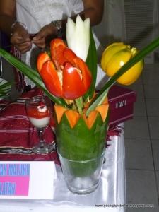 Interesting 'flower' arrangement!