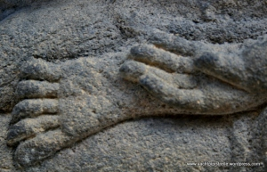 Hand and foot detail
