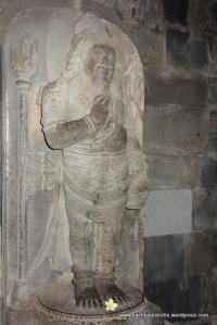 Rotund Agastya statue