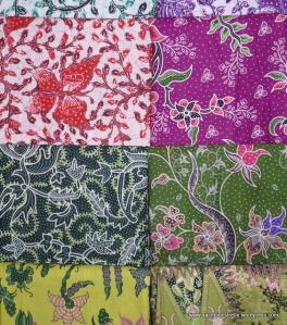 Batik display