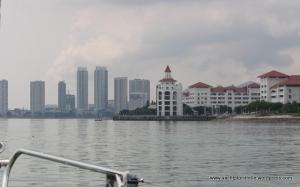 Approaching the marina