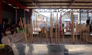 Joss stick offerings
