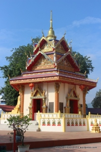 Pagoda in grounds of Thai Temple