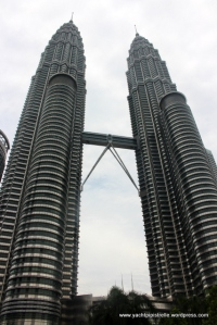 Petronas Towers - HQ of national petroleum company and tallest twin buildings in the world