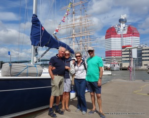 Departure from Lady Ann at 'The Lipstick' in Goteborg