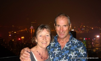 At the Peak in Hong Kong - October 2014