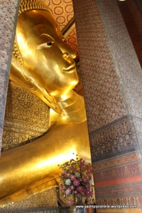 Reclining Buddha in relaxing pose