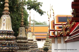 Wat Pho which houses a Reclining Buddha
