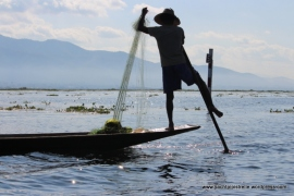 Inle Lake - Traditional Fishing