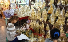 checking bulk buddha order before packing and shipping -