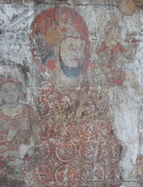 beautifully preserved mural