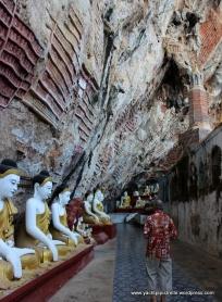 entrance to Kawgun limestone cave