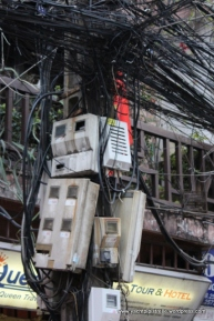 tangled web of streets - and wires!