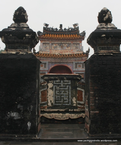 Tu Duc tomb itself