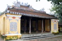 Pagoda in village