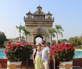 Triumphal Arch Vientiane