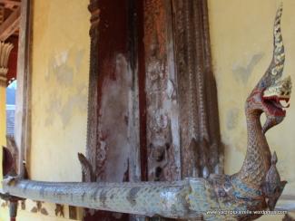 Wooden naga or serpent