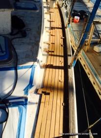 Side decks begun