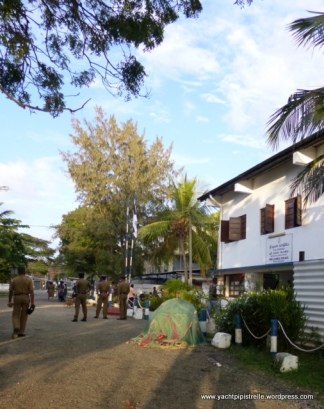 Police Station within harbour compound