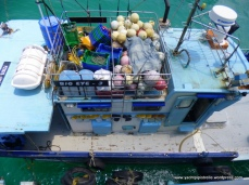Fishing boat alongside