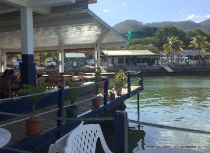 Yacht club verandah