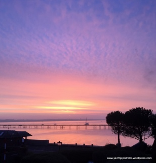 Sunrise in Hythe