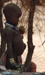 Himba toddler