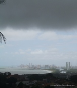 Dismal view towards Recife