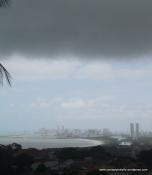 Dismal view towards Recife