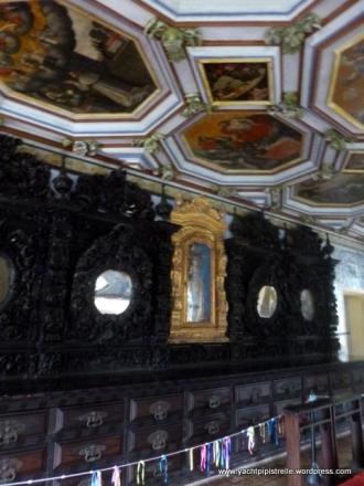 The sacristy