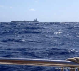 The Andes passing 1nm to starboard