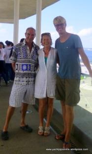 Bob, Elaine, Hannes
