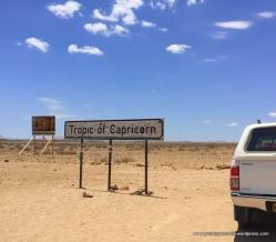 Crossing Capricorn in Namibia