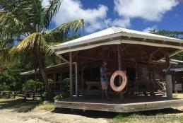 Restaurant on decking