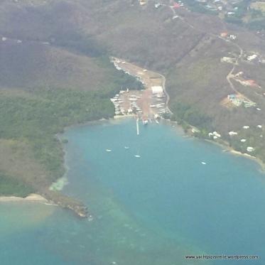 Grenada Marine aerial view
