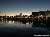 Ponta Delgada at night