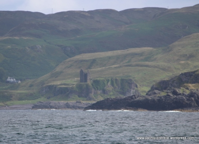 South Kerrera and castle