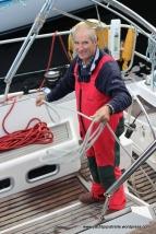 Handling the stern warp