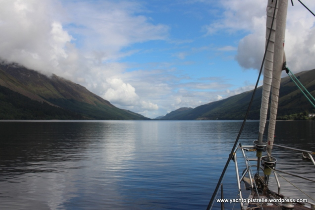 Fantastically calm Loch Lochy