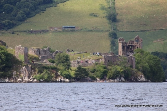 Urquhart Castle from the Loch